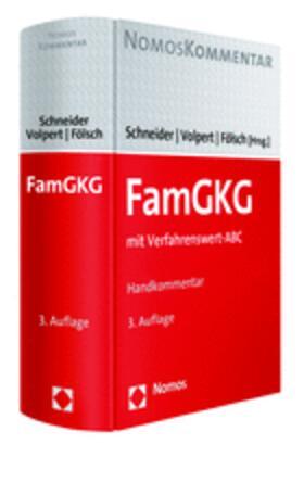 Schneider / Volpert / Fölsch | Familiengerichtskostengesetz: FamGKG | Buch