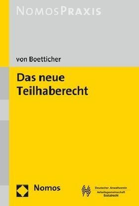 Boetticher   Das neue Teilhaberecht   Buch