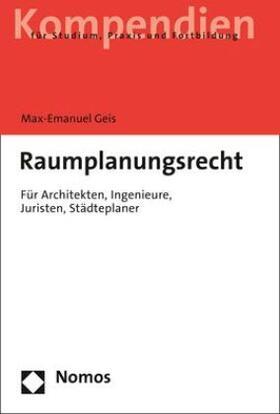 Geis | Planungsrecht | Buch
