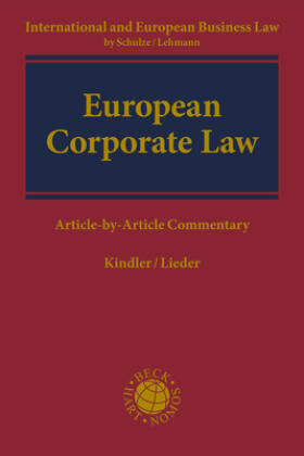 Kindler / Lieder | Corporate Law | Buch
