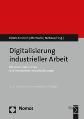 Digitalisierung industrieller Arbeit