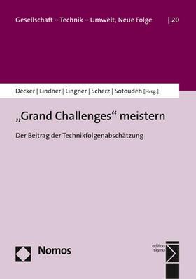 """""""Grand Challenges"""" meistern"""