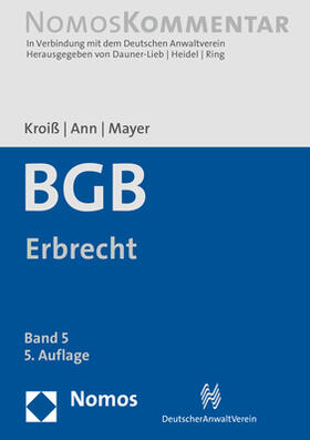 Bürgerliches Gesetzbuch: BGB Erbrecht