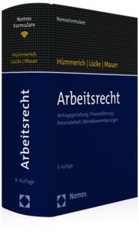 Hümmerich / Lücke / Mauer   Arbeitsrecht   Buch