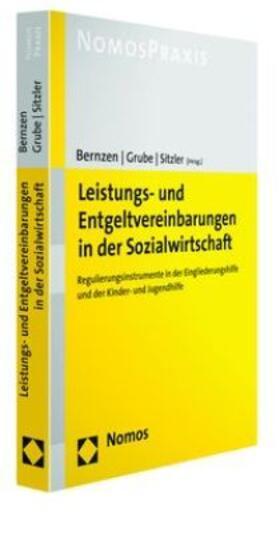 Bernzen / Sitzler / Grube | Leistungs- und Entgeltvereinbarungen in der Sozialwirtschaft | Buch