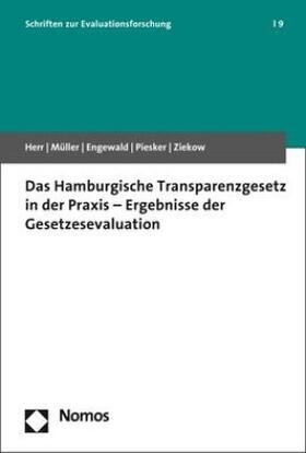 Das Hamburgische Transparenzgesetz in der Praxis