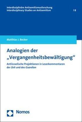 """Analogien der """"Vergangenheitsbewältigung"""""""