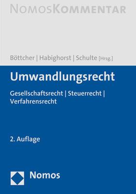 Umwandlungsrecht: UmwG, UmwStG, SpruchG
