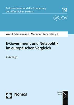 E-Government und Netzpolitik im europäischen Vergleich