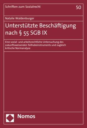 Unterstützte Beschäftigung nach § 55 SGB IX