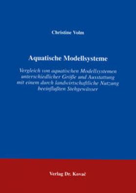 Aquatische Modellsysteme