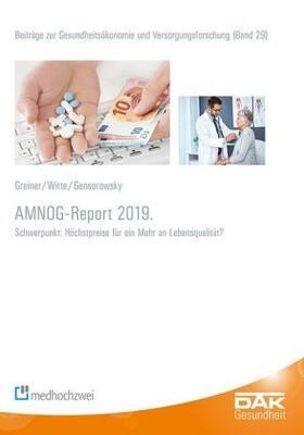 AMNOG-Report 2019