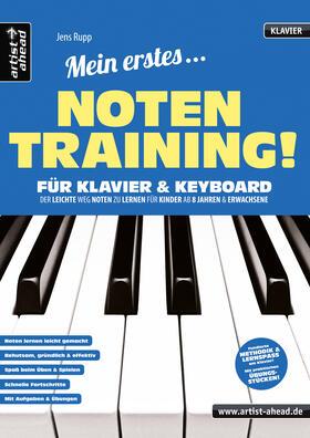 Mein erstes Notentraining für Klavier & Keyboard!