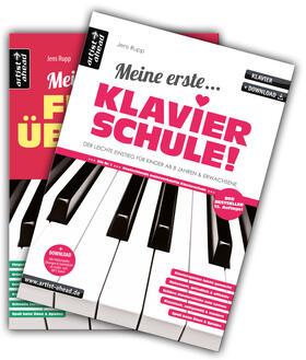 Meine erste Klavierschule & Meine ersten Fingerübungen im Set!