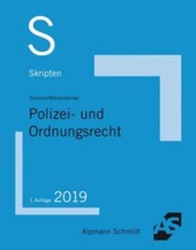 Wüstenbecker / Sommer | Skript Polizei- und Ordnungsrecht | Buch