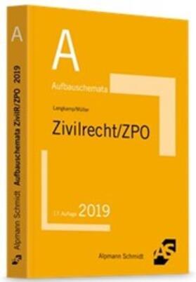 Langkamp / Müller | Aufbauschemata Zivilrecht / ZPO | Buch
