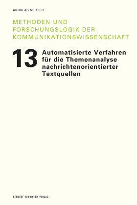 Automatisierte Verfahren fu¨r die Themenanalyse nachrichtenorientierter Textquellen