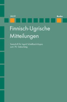 Finnisch-Ugrische Mitteilungen 28/29
