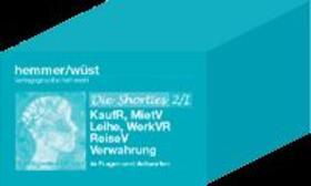 Hemmer / Wüst   Karteikarten - Shorties Box 2 / I vertragl. Schuldrecht   Sonstiges