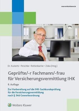 Versicherungsfachmann/-frau IHK Sachkundeprüfung § 34d