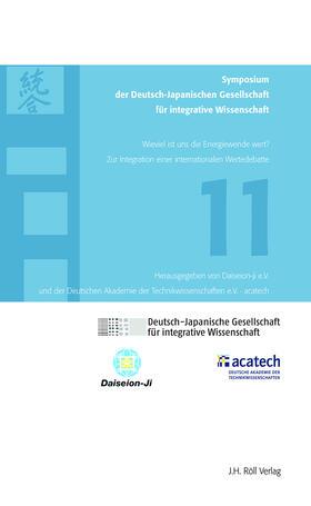 11. Symposium der Deutsch-Japanischen Gesellschaft für integrative Wissenschaft