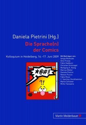 Die Sprache(n) der Comics