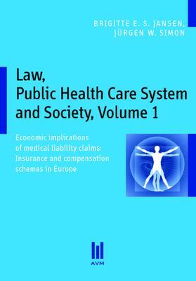 Jansen / Jansen / Simon   Law, Public Health Care System and Society   Buch