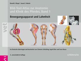 Bild-Text-Atlas zur Anatomie und Klinik des Pferdes