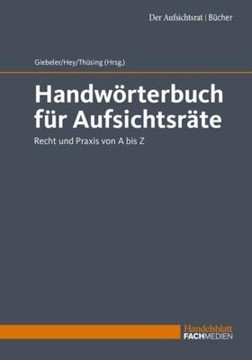 Handwörterbuch für Aufsichtsräte