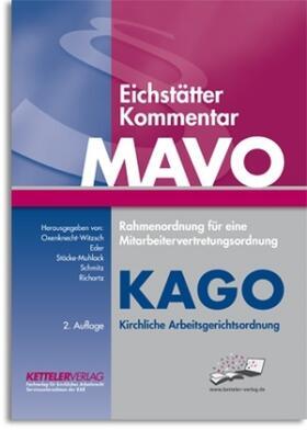 Oxenknecht-Witzsch / Eder / Stöcke-Muhlack   Eichstätter Kommentar MAVO & KAGO   Buch