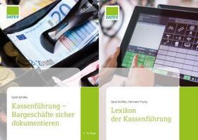 Achilles / Pump   Buchpaket Fachbuch und Lexikon Kassenführung   Buch