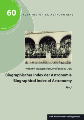 Biographischer Index der Astronomie / Biographical Index of Astronomy