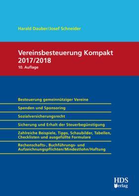 Vereinsbesteuerung Kompakt 2017/2018