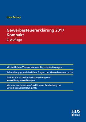 Gewerbesteuererklärung 2017 Kompakt