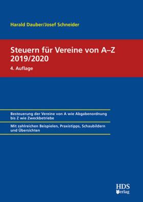 Steuern für Vereine von A-Z 2018/2019