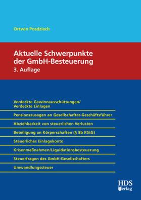 Aktuelle Schwerpunkte der GmbH-Besteuerung