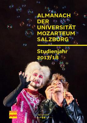 Almanach der Universität Mozarteum Salzburg