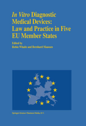 Maassen / Whaite | In vitro Diagnostic Medical Devices: Law and Practice in Five EU Member States | Buch