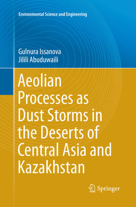 Aeolian Processes as Dust Storms in the Deserts of Central Asia and Kazakhstan