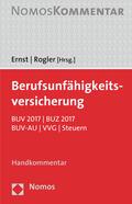 Ernst / Rogler Berufsunfähigkeitsversicherung - Mängelexemplar, kann leichte Gebrauchsspuren aufweisen. Sonderangebot ohne Rückgaberecht. Nur so lange der Vorrat reicht. | Sack Fachmedien