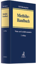 Börstinghaus |  Miethöhe-Handbuch - Mängelexemplar, kann leichte Gebrauchsspuren aufweisen. Sonderangebot ohne Rückgaberecht. Nur so lange der Vorrat reicht. | Buch |  Sack Fachmedien