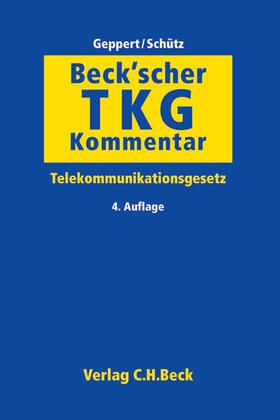 Geppert / Schütz | Beck'scher TKG-Kommentar - Mängelexemplar, kann leichte Gebrauchsspuren aufweisen. Sonderangebot ohne Rückgaberecht. Nur so lange der Vorrat reicht. | Buch | sack.de