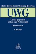 Gesetz gegen den unlauteren Wettbewerb (UWG) - Mängelexemplar, kann leichte Gebrauchsspuren aufweisen. Sonderangebot ohne Rückgaberecht. Nur so lange der Vorrat reicht.