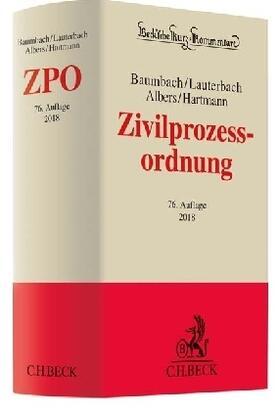 Baumbach / Lauterbach / Albers   Zivilprozessordnung: ZPO - Vorauflage, kann leichte Gebrauchsspuren aufweisen. Sonderangebot ohne Rückgaberecht. Nur so lange der Vorrat reicht.   Buch   sack.de