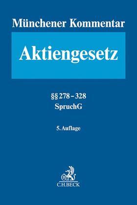 Goette / Habersack / Kalss | Münchener Kommentar zum Aktiengesetz  Band 5: §§ 278-328 - Mängelexemplar, kann leichte Gebrauchsspuren aufweisen. Sonderangebot ohne Rückgaberecht. Nur so lange der Vorrat reicht. | Buch | sack.de