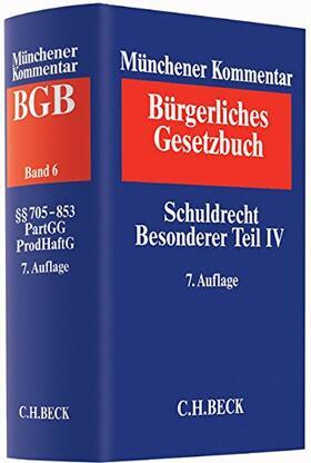 | Münchener Kommentar zum Bürgerlichen Gesetzbuch  Band 6: Schuldrecht Besonderer Teil IV - Vorauflage, kann leichte Gebrauchsspuren aufweisen. Sonderangebot ohne Rückgaberecht. Nur solange der Vorrat reicht. | Buch | sack.de