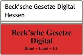 beck-online. Beck´sche Gesetze Digital Hessen | Datenbank | sack.de