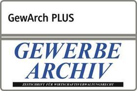 beck-online. GewArch PLUS | Datenbank | sack.de