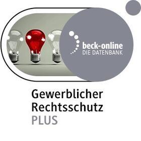 beck-online. Gewerblicher Rechtsschutz PLUS | Datenbank | sack.de