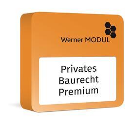 Werner Privates Baurecht Premium | Datenbank | sack.de